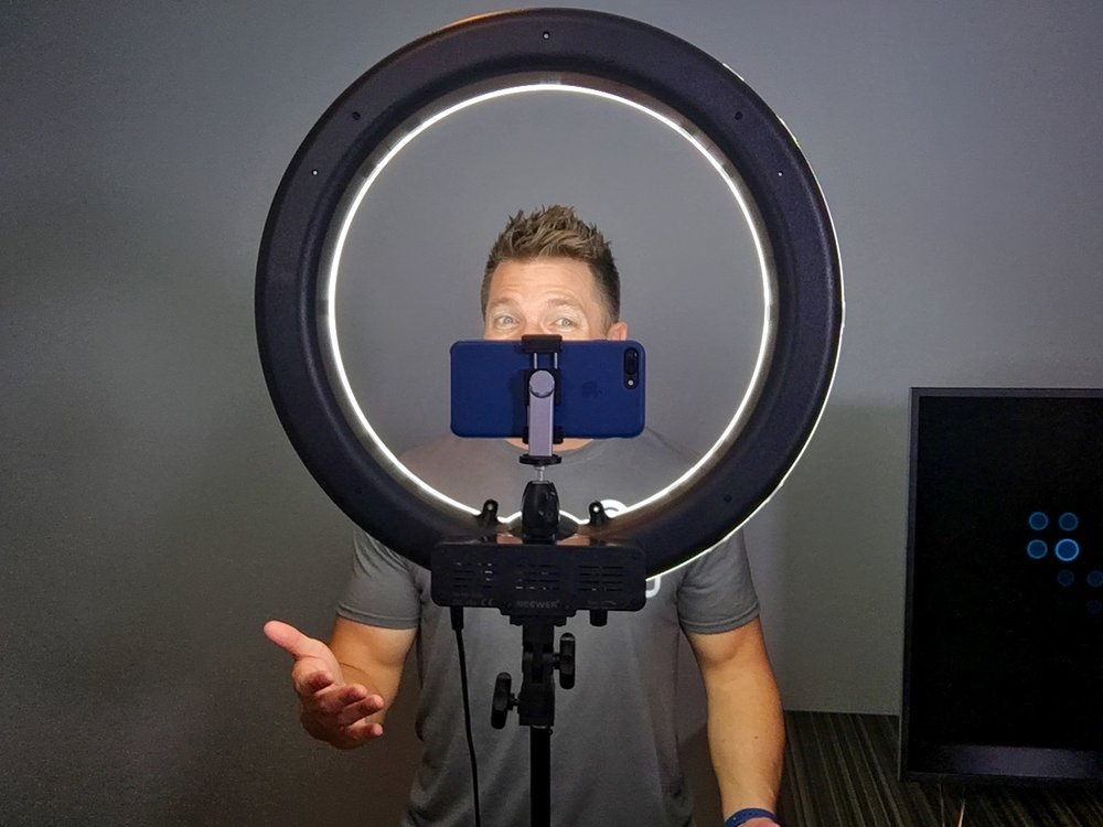 Makeup Ring And Lights: Ring Light For Video And Makeup